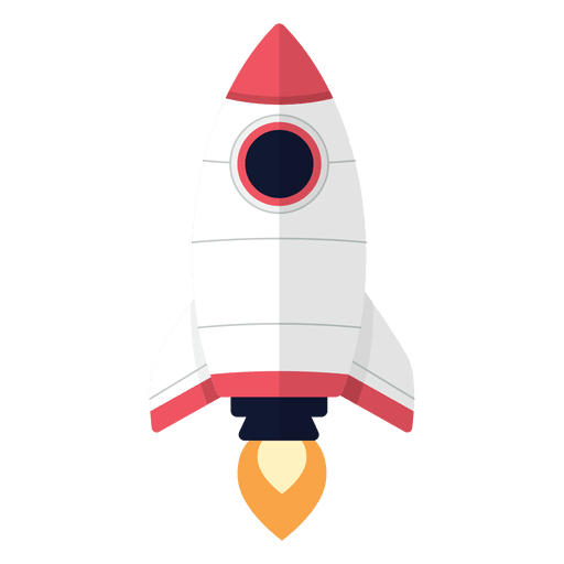 rocket cartoon transparent png svg vector #19683