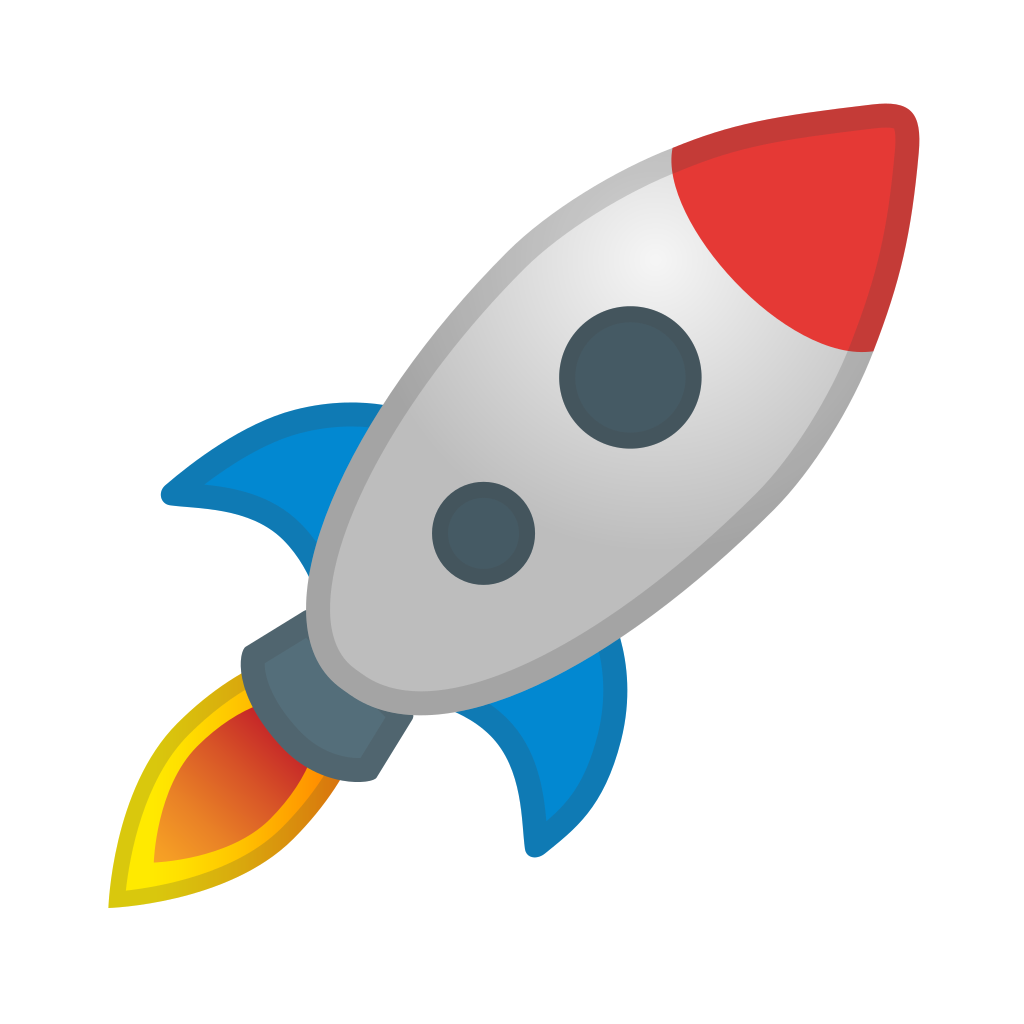 rocket icon noto emoji travel places iconset google #19654