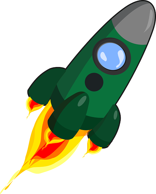 rocket ignition propulsion vector graphic pixabay #19690