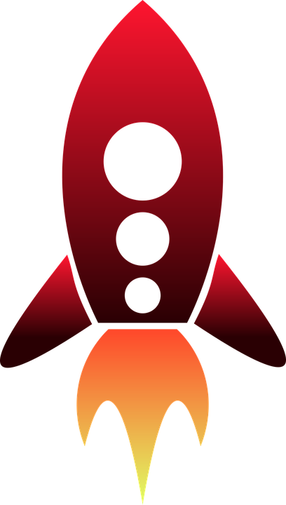 rocket vector space vector graphic pixabay #19652