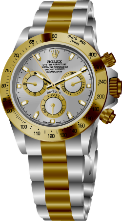 rolex daytona watch vector png logo