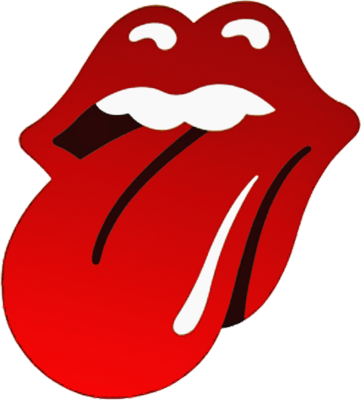 rolling stones lips png logo #3422