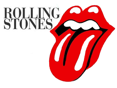 rolling stones photo png logo #3443