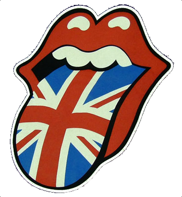 the rolling stones usa png logo #3440