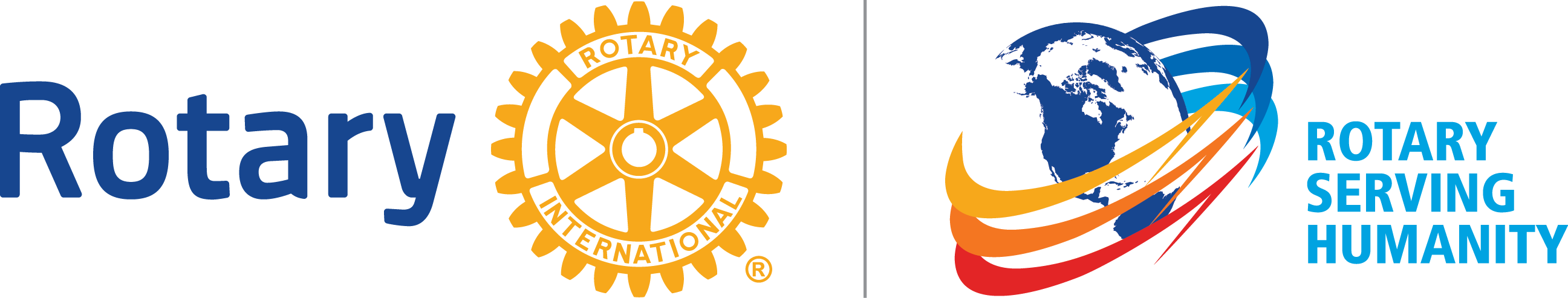 rotary, rotary serving humanıty png logo 4020