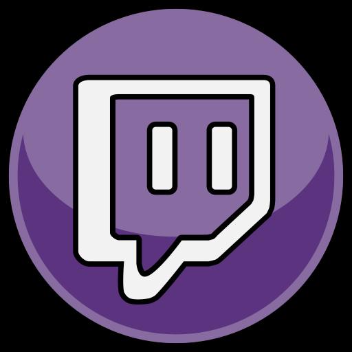 round twitch logo #1872