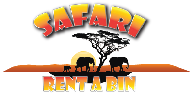 safari rent a bin logo #39673