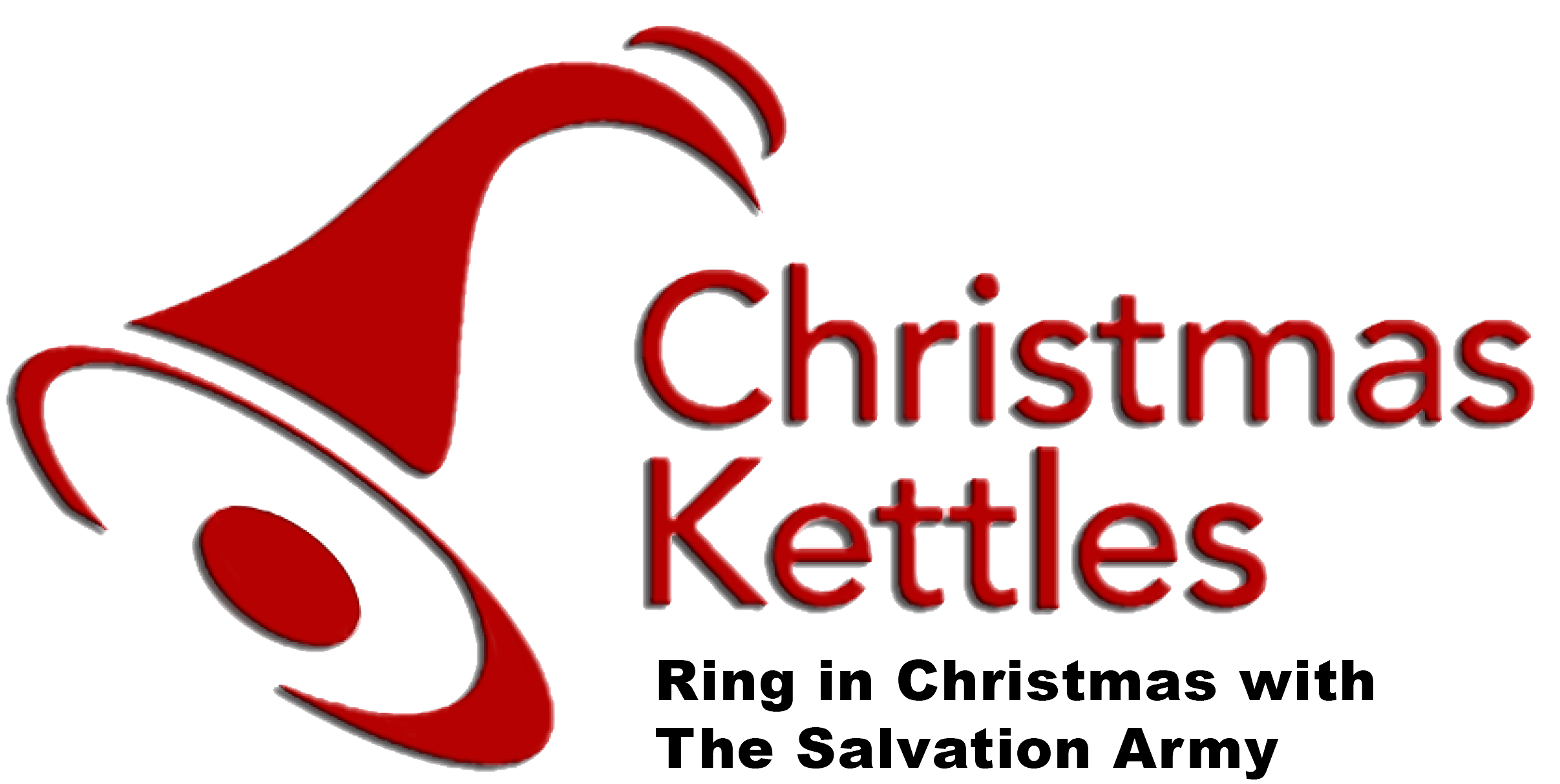 christmas kettles and salvation army png logo #5161