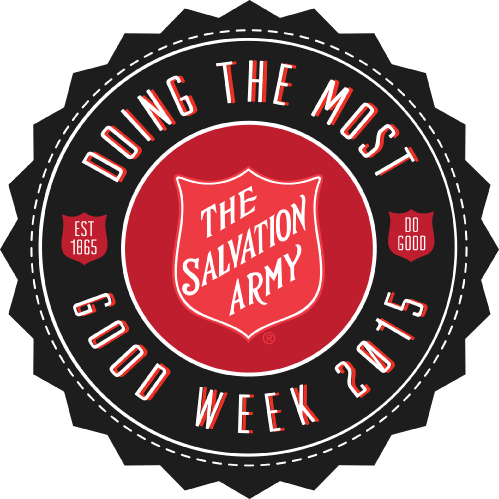 doing the most good week and salvation army png logo #5158