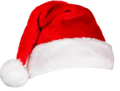 Santa HAT Transparent PNG, Christmas Santa Claus Hat ...