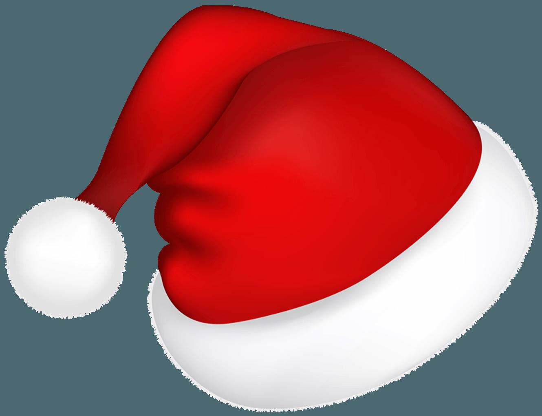 Santa HAT Transparent PNG, Christmas Santa Claus Hat