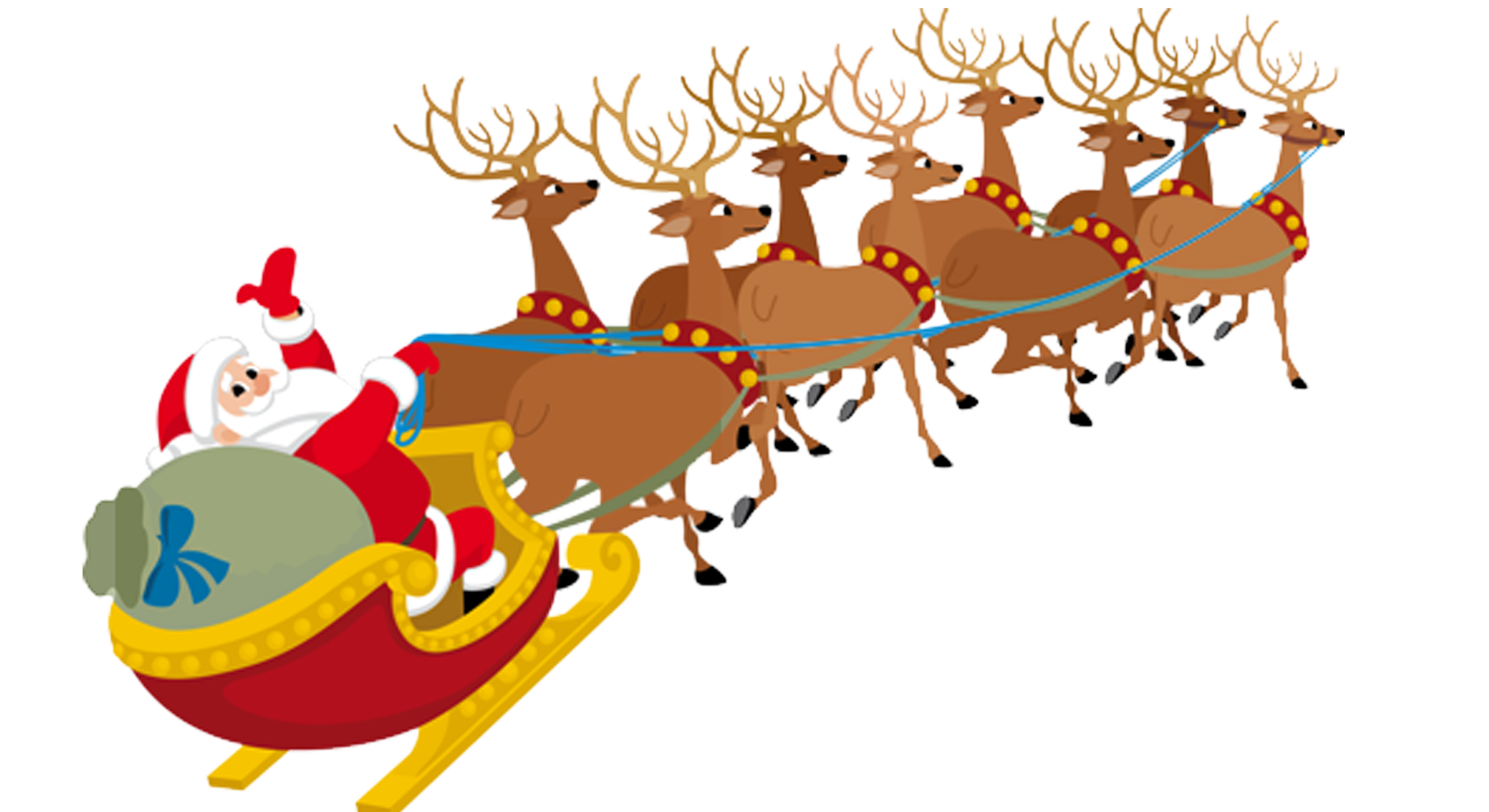 Santa Sleigh Png Pictures Santa Sleigh Clipart Free Download Free Transparent Png Logos