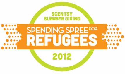 scentsy spending spree for refugees png logo #6782