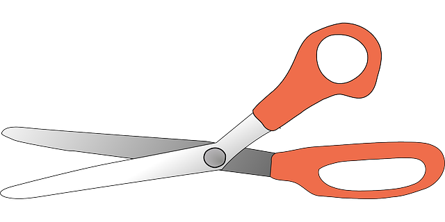 scissors shearing instruments vector graphic pixabay #23222