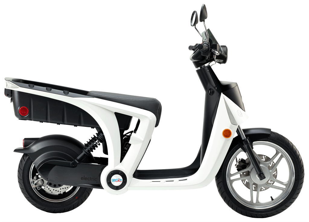 scooter electric two wheel scooter genze #37149