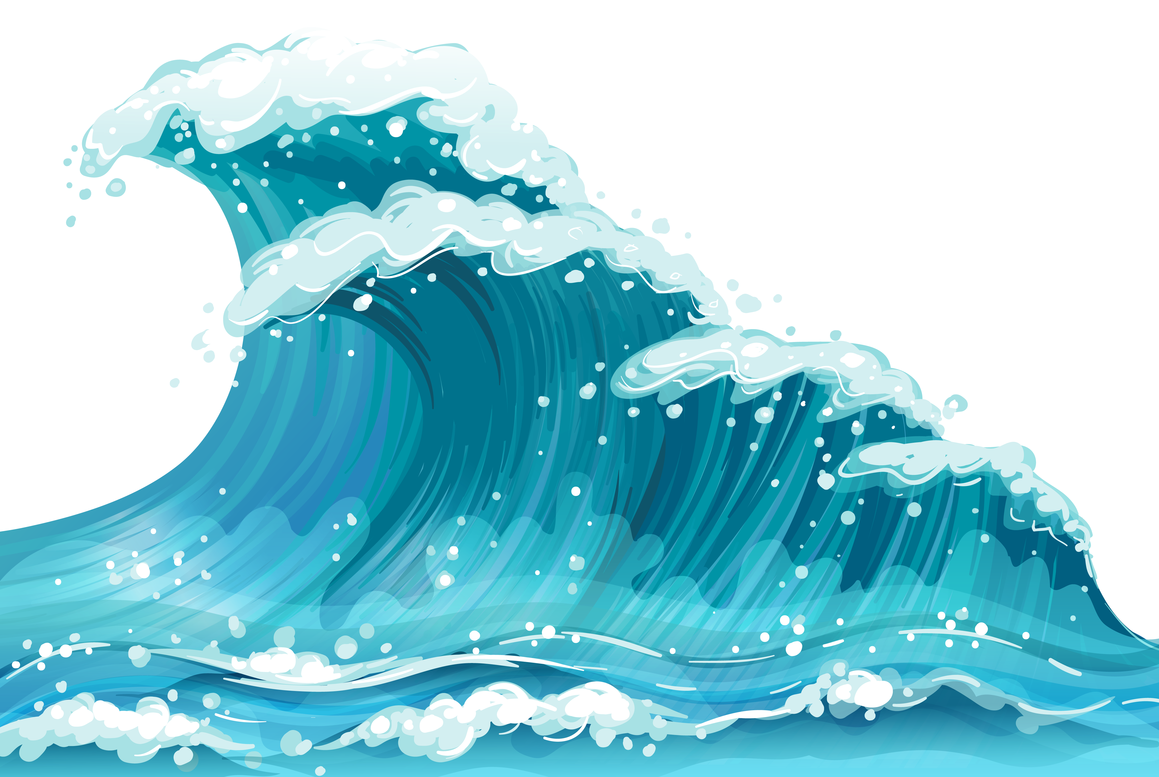 sea, clipart waves transparent clipground #17816