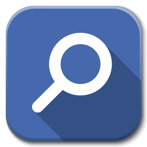 search, apps icon flatwoken iconset alecive #26273