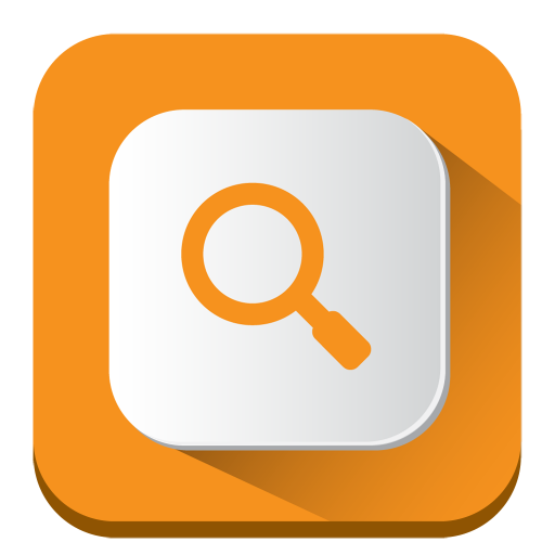 search, icon long shadow ios iconset pelfusion #26267
