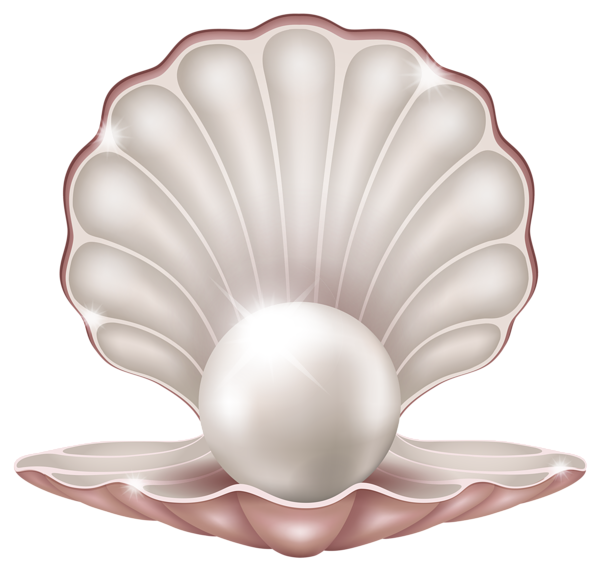 pin pink maiden clipart seashell crafts clip art #26431