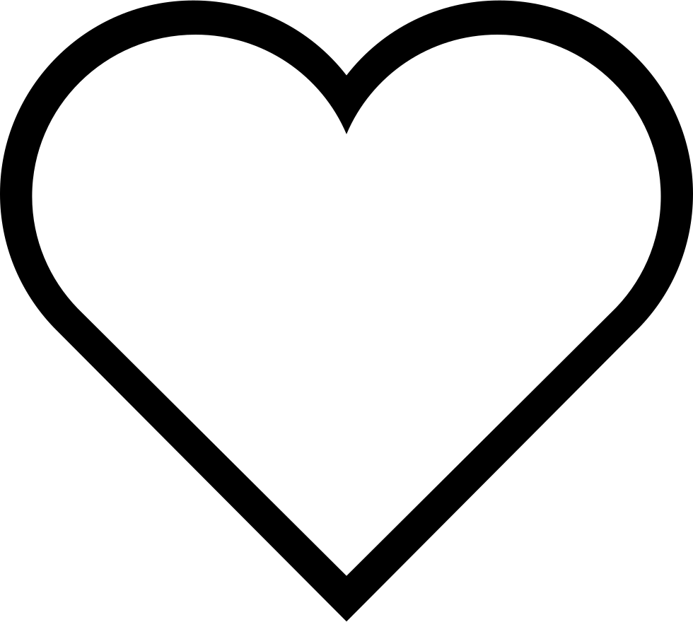 heart shape, heart svg png icon download #27548
