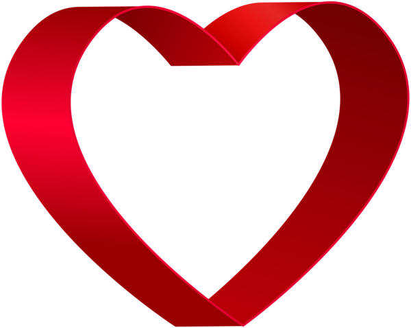 transparent red heart shape png clip art gallery #27538