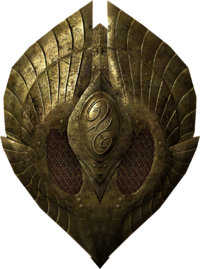elven shield skyrim the elder scrolls wiki wikia #22845