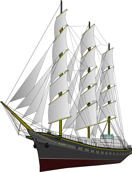 frigate ship boat vector graphic pixabay #17094