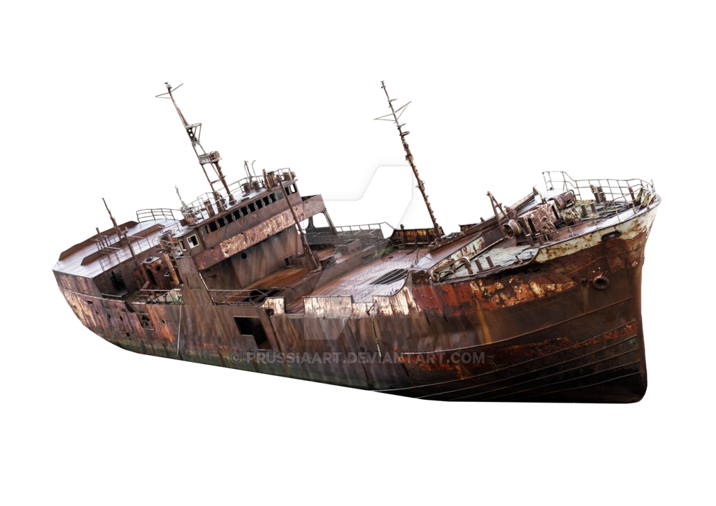 the rusty old ship transparent background #17138