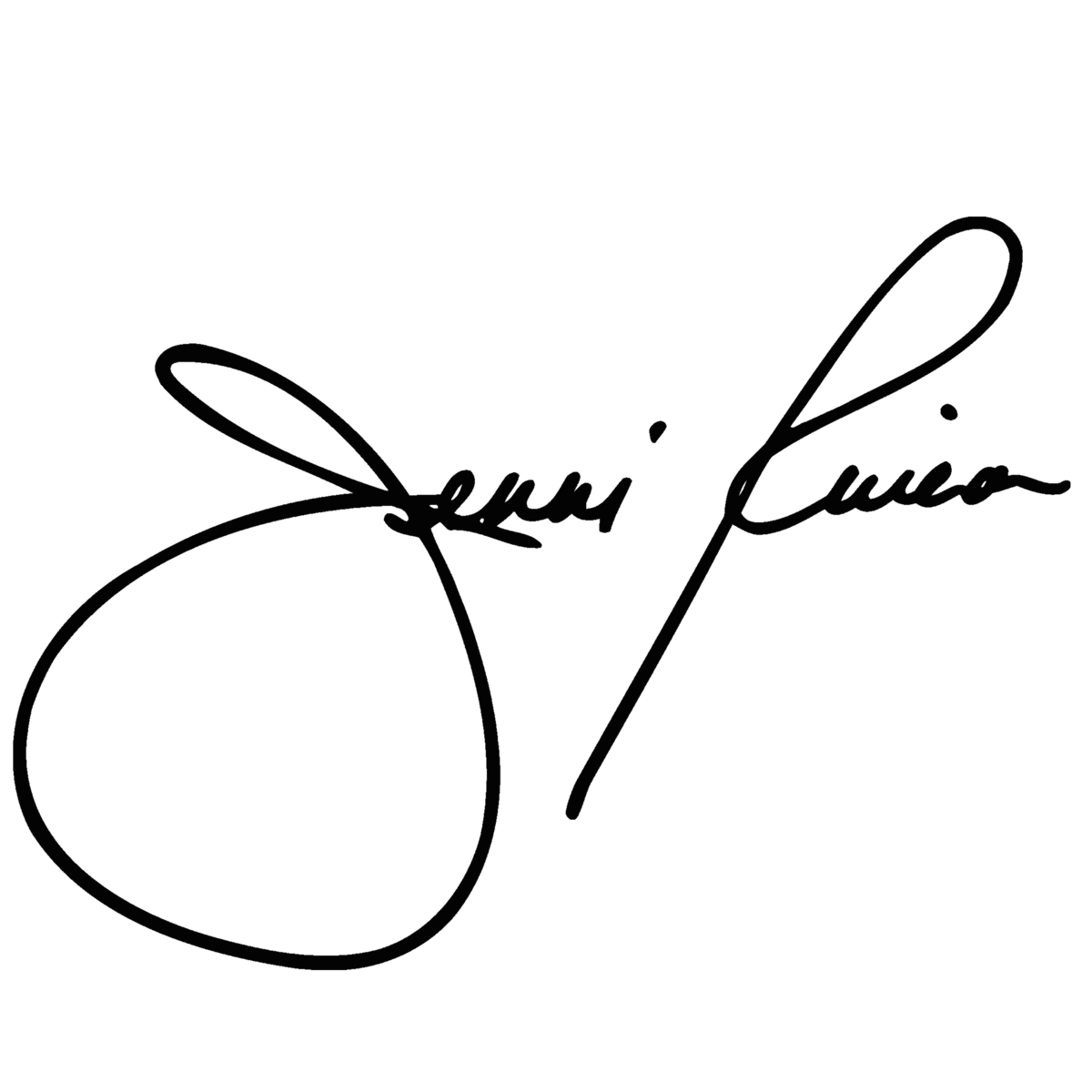 signature jenni rivera digital png #40150