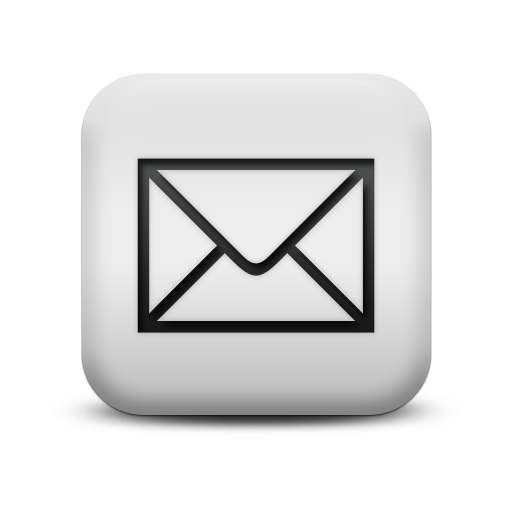 silver email logo png #1103