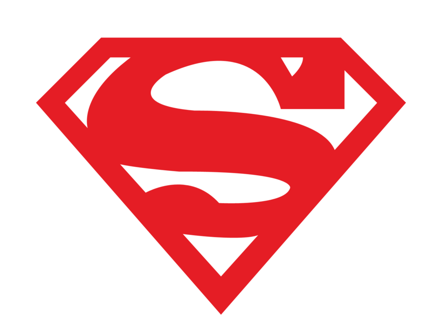 Simple Red Superman Logo Png #1533