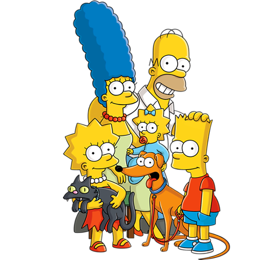 simpsons, cartoon characters png #12681