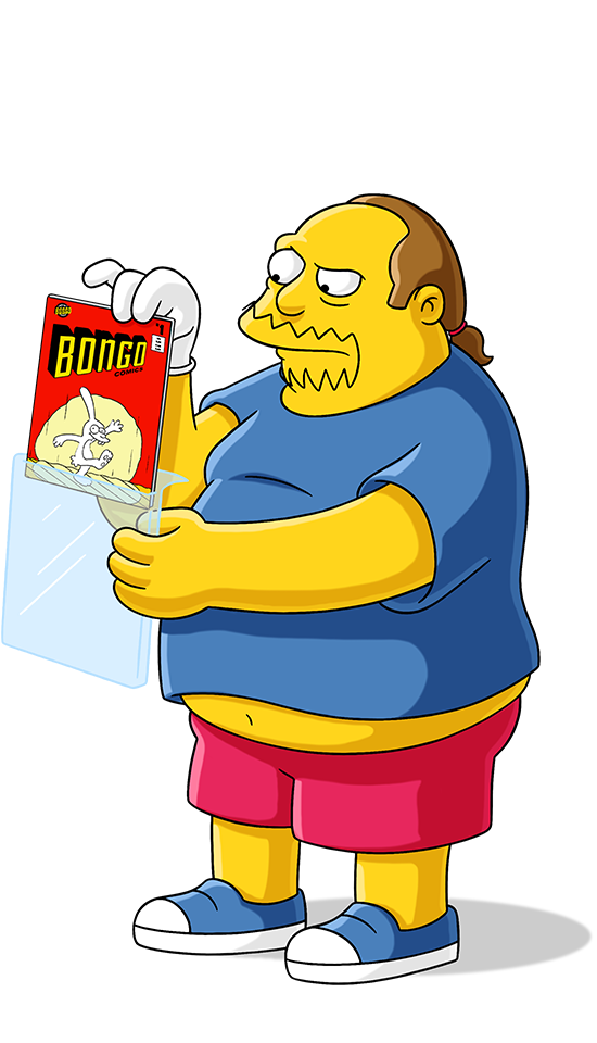 thomas dafoe studios the simpsons characters png pack #12682