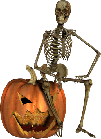 skeleton, halloween graphics #24779
