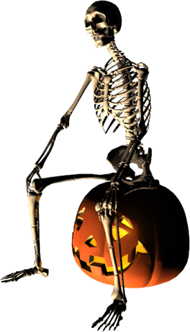 skeleton, halloween graphics #24789