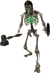 skeleton, undead the runescape wiki #24791