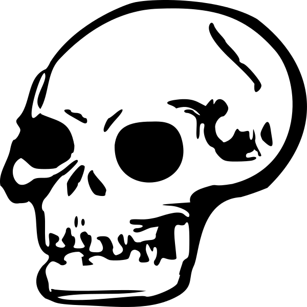 file skull svg wikipedia #13739