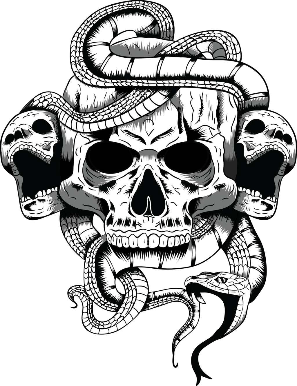 skull illustration arrtman deviantart #13761