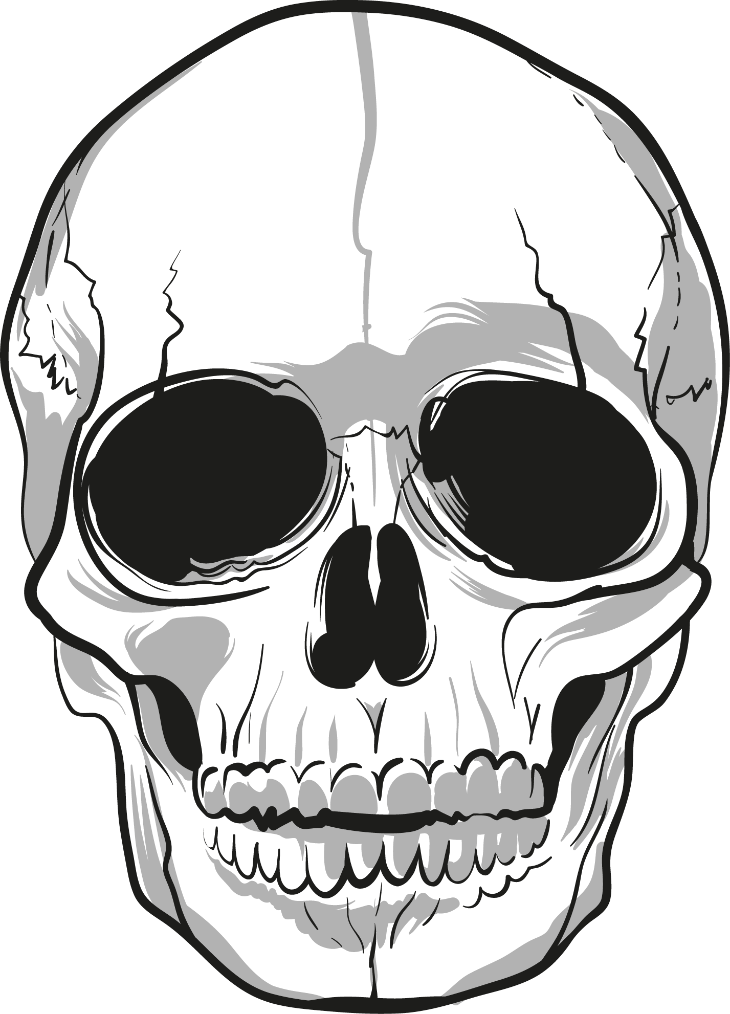 skull tattoo png transparent images png #13733