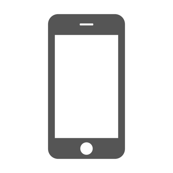 mobile phone smartphone vector graphic #12077