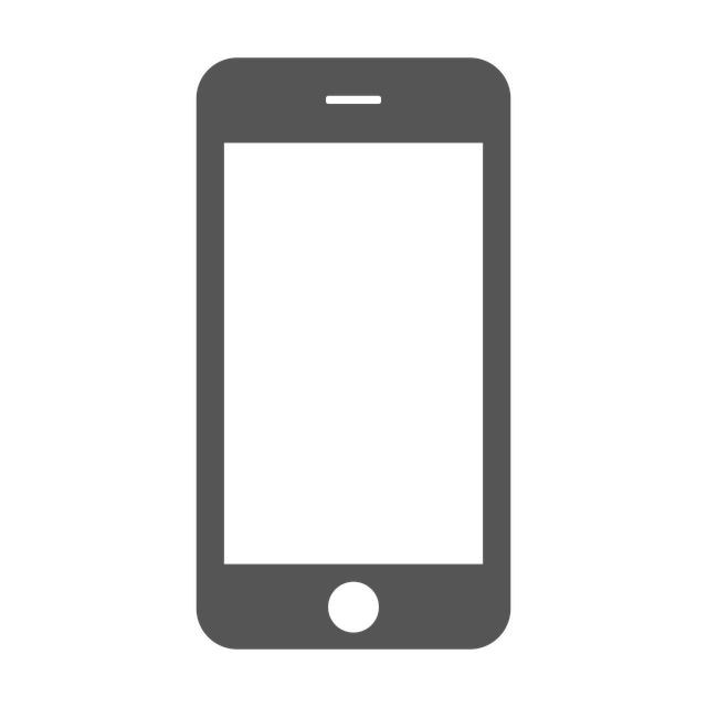 mobile phone smartphone vector graphic #12089