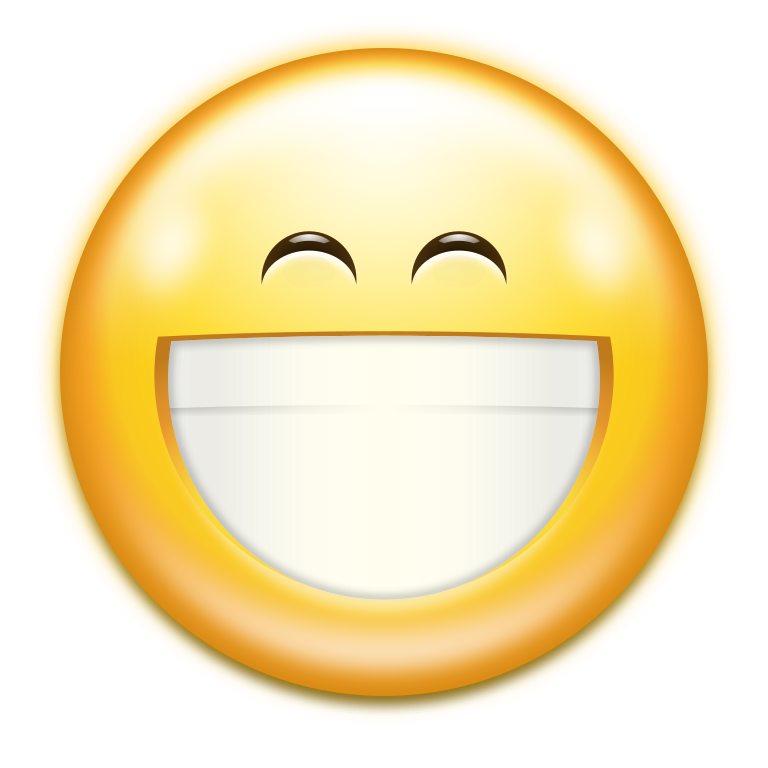 file oxygen emotes face smile big svg wikimedia commons #17209