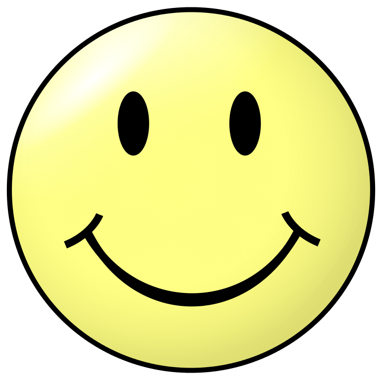 file smiley head happy svg wikimedia commons #9885