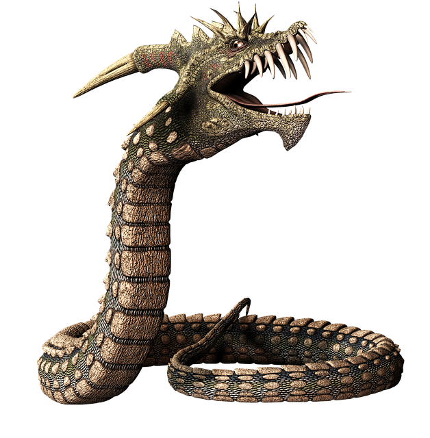 snake dragon head image pixabay #16437