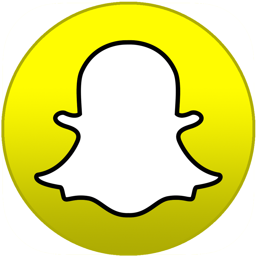 Snapchat hd logo transparent png #1459 - Free Transparent ...