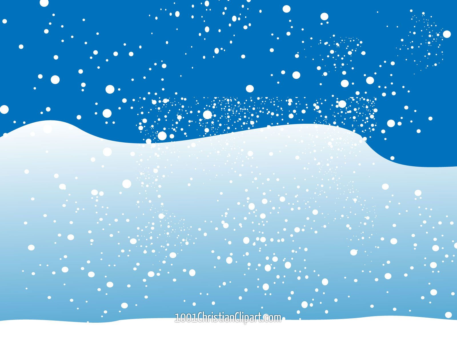 christmas winter snow scene clip art christmas snow #32951