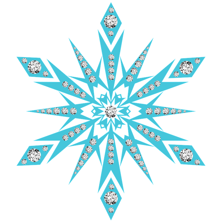 snow flake snowflake diamonds image pixabay #10518