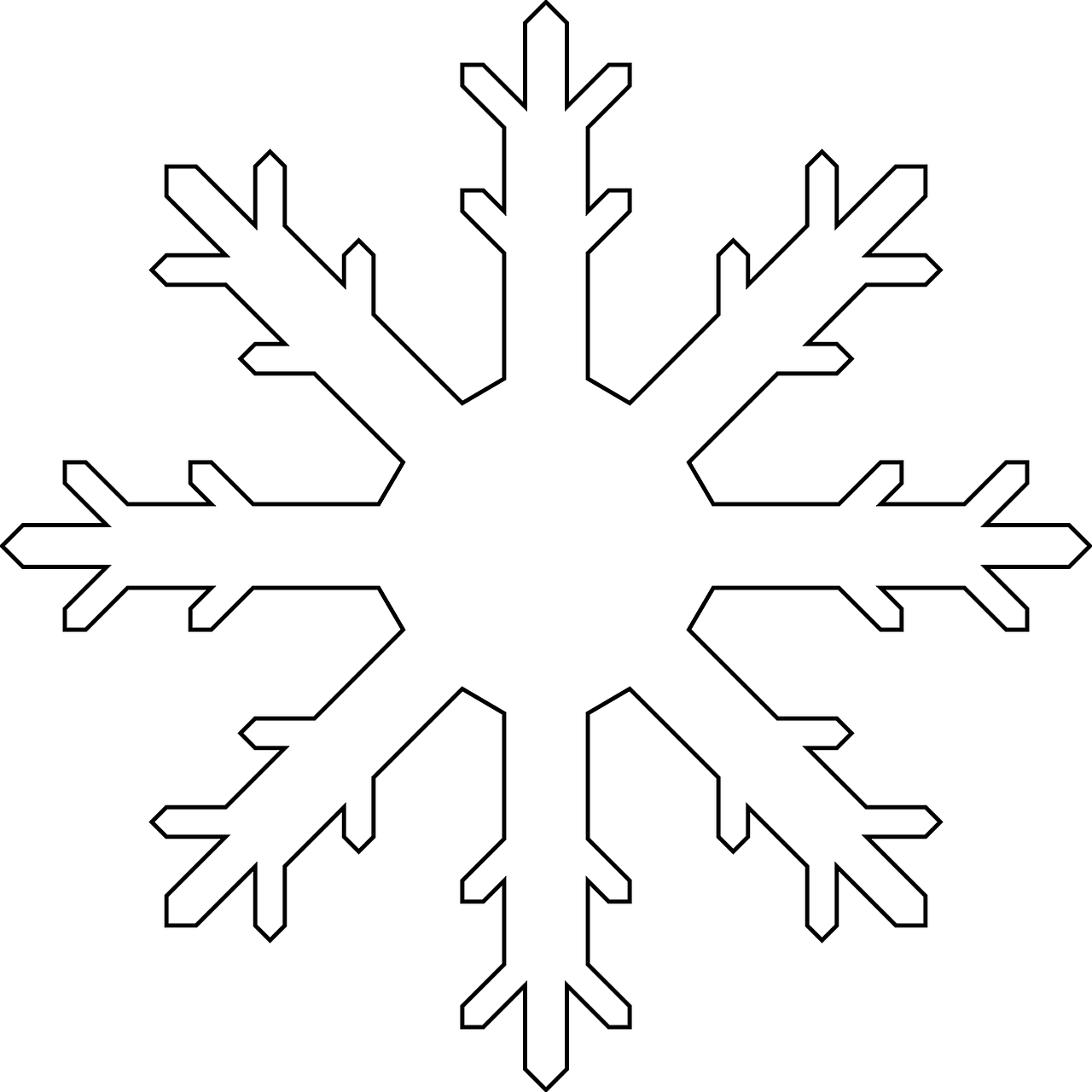 snowflake colouring pages the playroom #10506