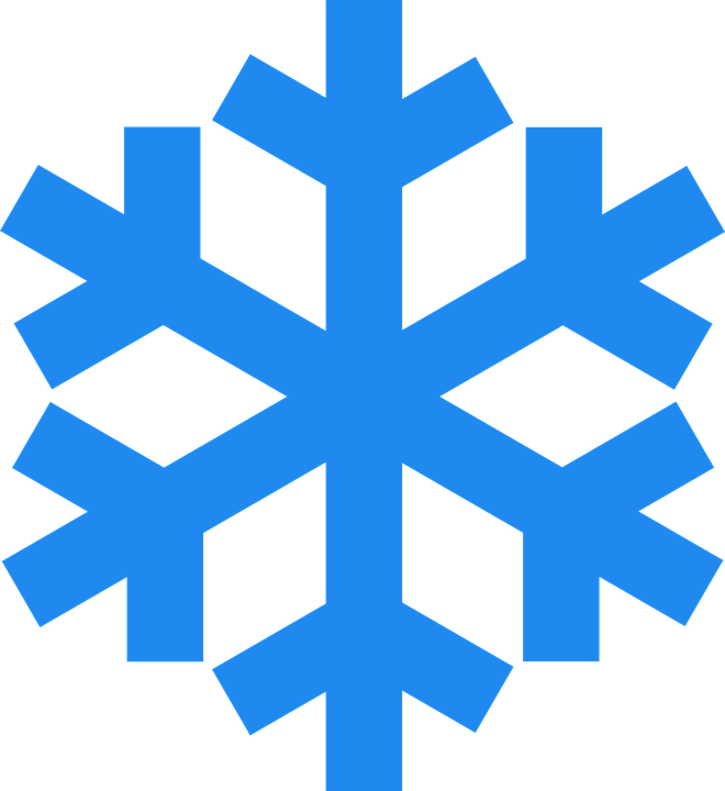 snowflake winter ice crystal vector graphic pixabay #10535