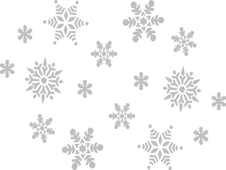 vector graphic snowflake gray fall sky grey #10493